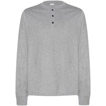 《期間限定セール開催中!》8 by YOOX メンズ T シャツ グレー S コットン 100%