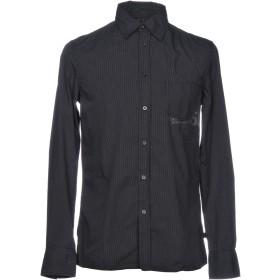 《期間限定 セール開催中》TIMEZONE メンズ シャツ ブラック S コットン 100%