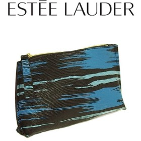 エスティローダー ブラックアートポーチ(001) 【EsteeLauder】【W_67】