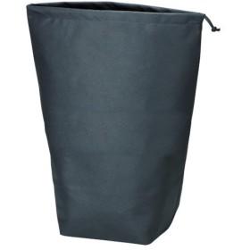 TRUSCO 不織布巾着袋 黒 500×420×220mm TNFD−10−L 1パック(10枚) お取寄せ品