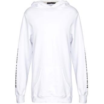 《セール開催中》BAD SPIRIT メンズ スウェットシャツ ホワイト XL コットン 100%