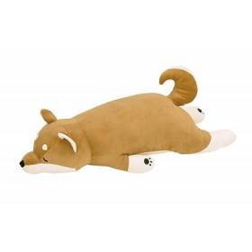 柴犬のコタロウ りぶはあと 抱きまくらL 73x32x18cm プレミアムねむねむアニマルズ