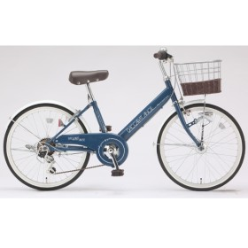 22型 自転車 ダカラットアンジュ(サックスブルー/外装6段変速)JRV-W226BA-HD-BAA-A
