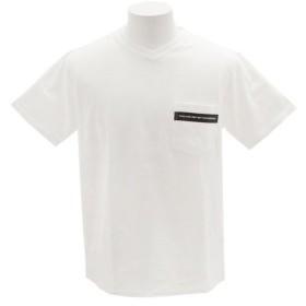 ザ・ワープ・バイ・エネーレ(The Warp By Ennerre) CN Pocket 半袖Tシャツ WB31JA21 WHT (Men's)