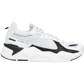 《期間限定セール開催中!》PUMA メンズ スニーカー&テニスシューズ(ローカット) ホワイト 4.5 紡績繊維 RS-X CORE