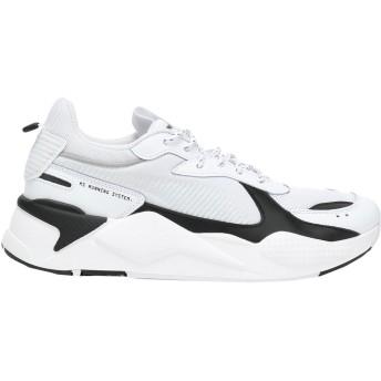 《セール開催中》PUMA メンズ スニーカー&テニスシューズ(ローカット) ホワイト 5 紡績繊維 RS-X CORE