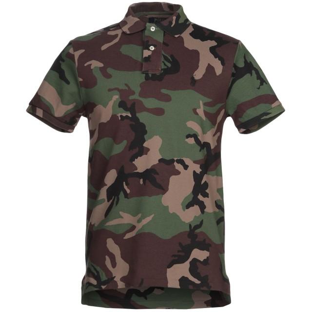 《セール開催中》POLO RALPH LAUREN メンズ ポロシャツ グリーン M コットン 100%