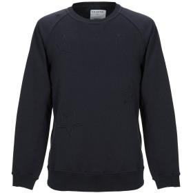 《期間限定セール開催中!》THE EDITOR メンズ スウェットシャツ スチールグレー XS コットン 100%