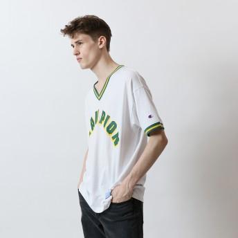 VネックTシャツ 19SS アクションスタイル チャンピオン(C3-P313)【5400円以上購入で送料無料】