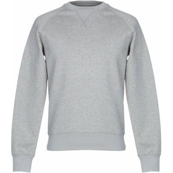 《期間限定セール開催中!》ASPESI メンズ スウェットシャツ ライトグレー M コットン 100% / ポリウレタン