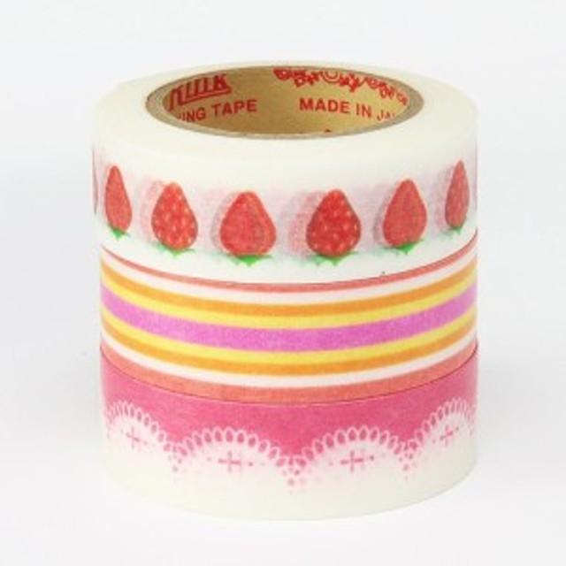 マスキングテープRINK(リンク) スイーツデコ ストロベリーケーキ