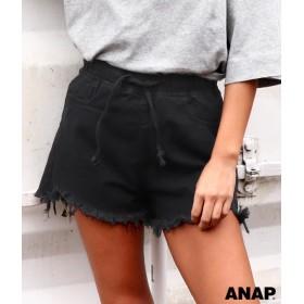 【セール開催中】ANAP(アナップ)フリンジイージーショートパンツ