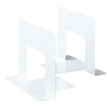 KKY  EM-BS39WX5ブックエンド ワイドサイズ ホワイト 1組2枚×5組入【@iimo】
