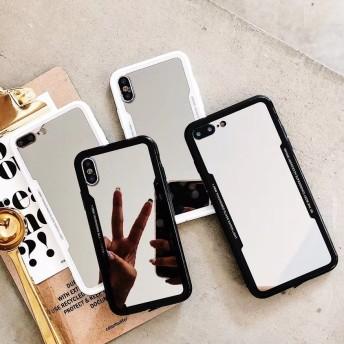 ミラー 2色 iPhoneケース 送料無料 iPhone6/6s iPhone6plus/6splus iPhone7/8 iPhone7plus/8plus iPhoneX XS XR XSMax