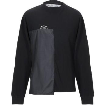 《9/20まで! 限定セール開催中》OAKLEY メンズ T シャツ ブラック XS コットン 100%