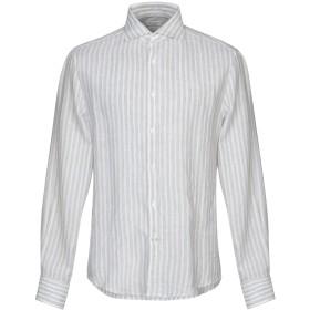 《期間限定 セール開催中》BRUNELLO CUCINELLI メンズ シャツ ベージュ M 麻 100% / コットン