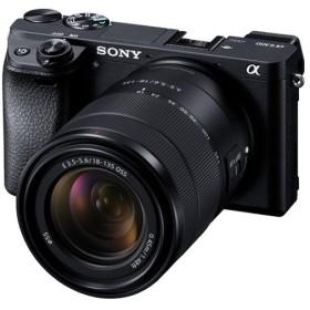 ソニー SONY ILCE-6300M 高倍率ズームレンズキット ボディ 交換レンズ E 18-135mm F3.5-5.6 OSS SEL18135 新品 送料無料
