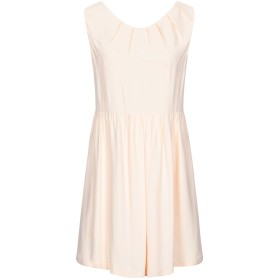 《セール開催中》MANILA GRACE レディース ミニワンピース&ドレス あんず色 42 レーヨン 100%