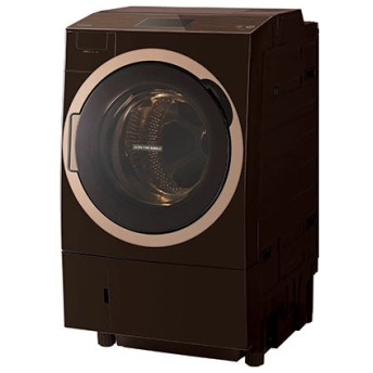 東芝 TW-127X7L(T) グレインブラウン ZABOON [ドラム式洗濯乾燥機 (洗濯12.0kg/乾燥7.0kg) 左開き ウルトラファインバブルW搭載 ] 洗濯機