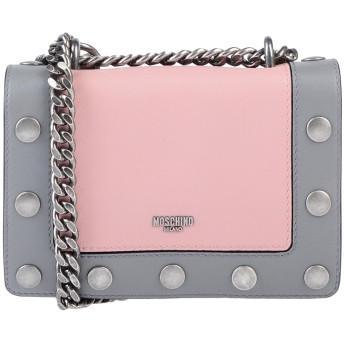 《9/20まで! 限定セール開催中》MOSCHINO レディース 肩掛けバッグ ピンク 革