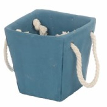 ダルトン 鉢 セメント バッグ ポット アドニス ブルー S CEMENT BAG POT ADONIS BLUE S K855-972ABS
