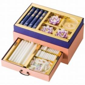2019ギフト カメヤマ 浄雅(蓮紫) 線香・ローソクセット 入学祝い 還暦祝い お誕生日祝い 出産内祝い 送料無料 プレゼント