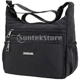 女性クロスボディショルダーバッグ防水軽量ハンドバッグ