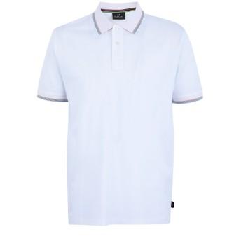 《期間限定セール開催中!》PS PAUL SMITH メンズ ポロシャツ ホワイト S コットン 100%