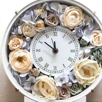 アンティークカラー 花時計