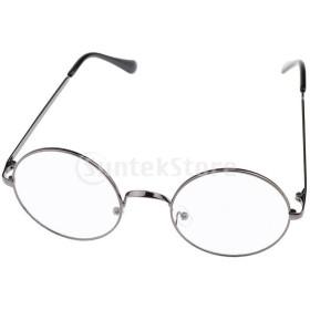 ファッションメンズメタルフレームフルリムメガネ防眩メガネ