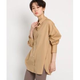 DRESSTERIOR / ドレステリア 【洗える】ポプリンシャンブレービッグシャツ