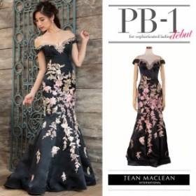 JEANMACLEAN ドレス ジャンマクレーン キャバドレス ナイトドレス ロングドレス jean maclean ブラック 黒 9号 M 81382 クラブ スナック
