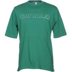 《期間限定セール開催中!》COTTWEILER メンズ T シャツ グリーン L コットン 100%
