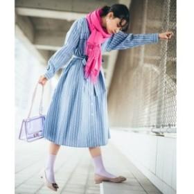 エージー バイ アクアガール(AG by aquagirl)/【Lサイズありwith5月号掲載】タイプライターアソートワンピース