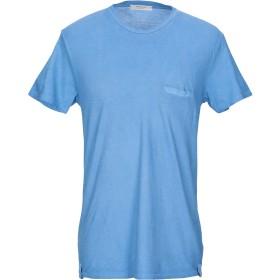《セール開催中》WOOL & CO メンズ T シャツ パステルブルー S コットン 100%