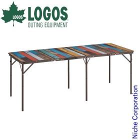 ロゴス テーブル グランベーシック 丸洗い4FDスリムテーブル 1880 アウトドア 机