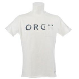 【Super Sports XEBIO & mall店:トップス】【オンライン特価】 SLUB Tシャツ ORGN 863EK9FQ9391WHT