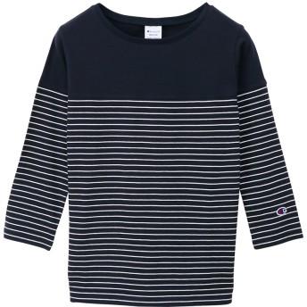 ウィメンズ 3/4スリーブ【7分袖】Tシャツ 19FW チャンピオン(CW-P402)【5400円以上購入で送料無料】