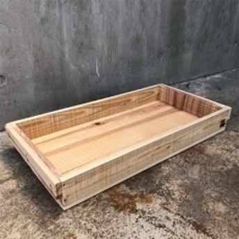 木箱(りんご箱)Cサイズ 1箱 62cm×31cm×7.7cm (おおさか 河内材 無塗装)