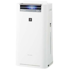 SHARP KI-JS50-W ホワイト系 [空気清浄機 (空気清浄~23畳/加湿~15畳)]
