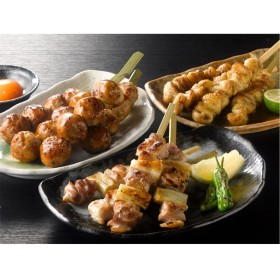 鶏三和 名古屋コーチン焼き鳥串12本盛合せ
