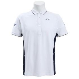 オークリー(OAKLEY) ゴルフウェア メンズ SKULL DIAGONAL ポロシャツ 434393JP-100 (Men's)