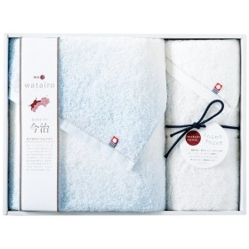 内祝い 今治タオル わたいろ タオルセット ブルー