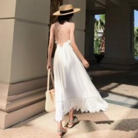 ワンピース ドレス ロングワンピース キャミワンピ 大きいサイズ ワンピース セクシー ワンピース 二次会 リゾートワンピース