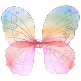 バタフライ ウイング 蝶の翼 コスチューム 女の子 虹色 舞台道具 可愛い