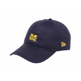 ニューエラ NEW ERA 9THIRTY クロスストラップ ミシガン大学 オフィシャルロゴカラー 930 COLLEGE Michigan カジュアル 帽子