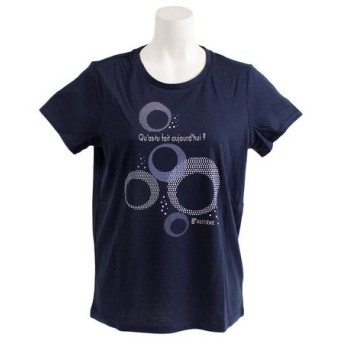 HUITIEME T/C クルーネックTシャツ HU19S03TC864912NVY (Lady's)