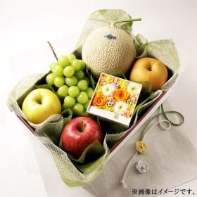 内祝い くだものこのみ 季節のフルーツとお花