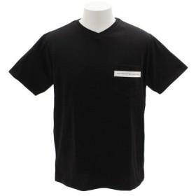 ザ・ワープ・バイ・エネーレ(The Warp By Ennerre) CN Pocket 半袖Tシャツ WB31JA21 BLK (Men's)