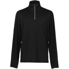 《期間限定 セール開催中》POLO RALPH LAUREN メンズ T シャツ ブラック L ポリエステル 88% / ポリウレタン 12%